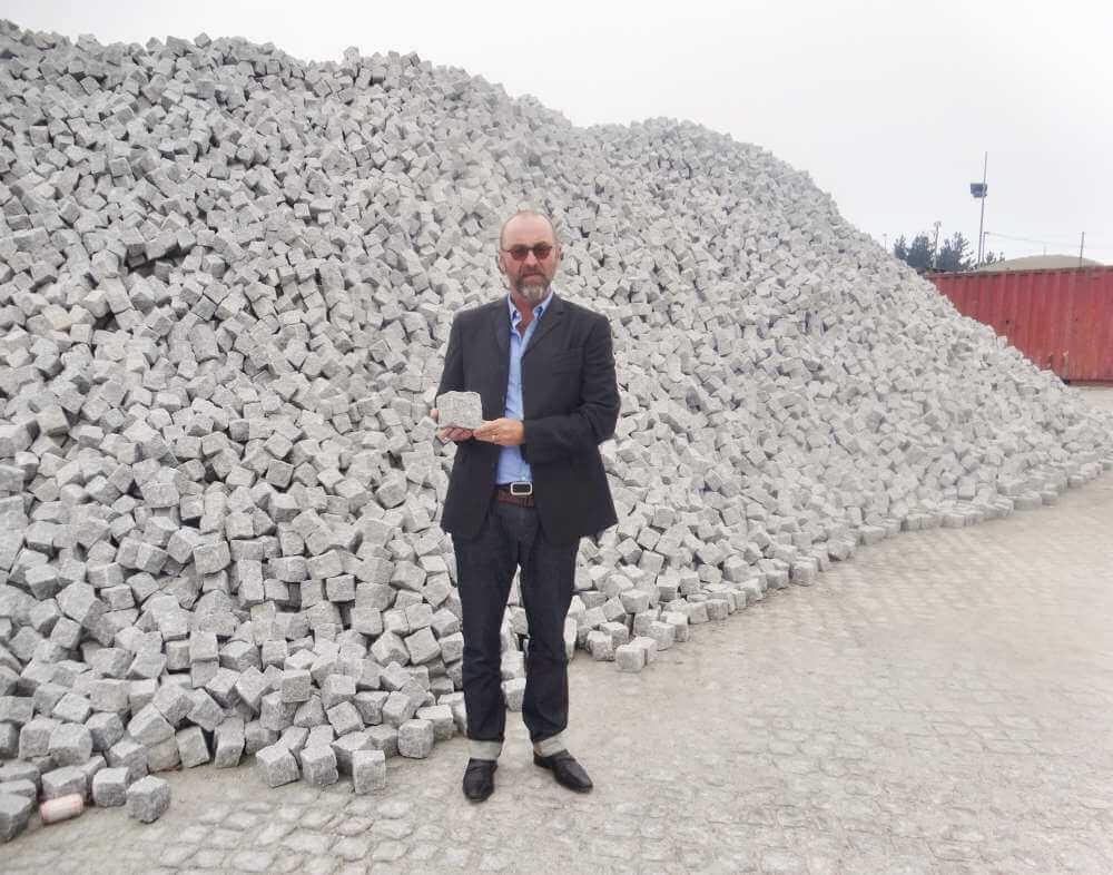 Ken Mansfield MD of Granite Setts UK Ltd