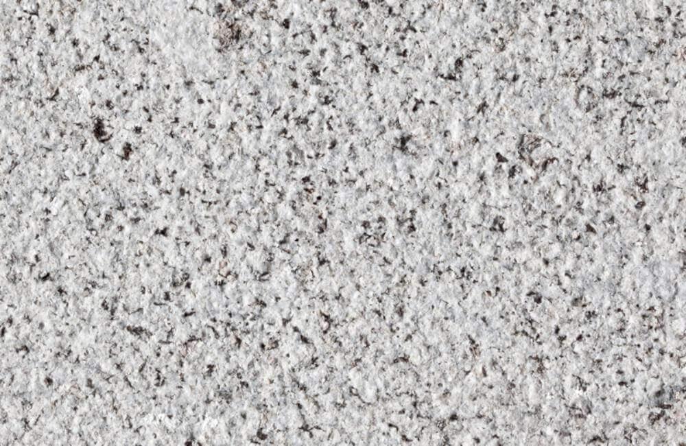 granite bush hammered finish