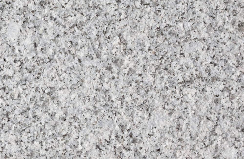 granite flamed finish