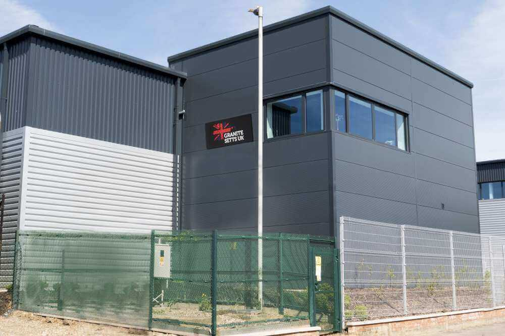 The head office for Granite Setts UK Ltd
